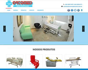 Site ORTOMED Móveis